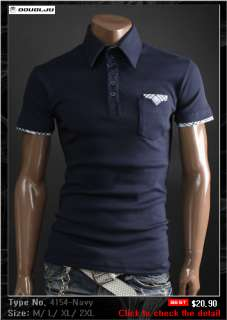 Doublju1 Mens Casual Best polo shirt Collection