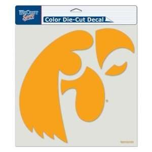 Iowa Hawkeyes Die Cut Decal   Color