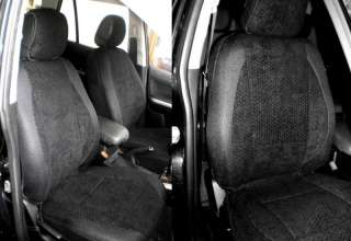 HQ BLACK Front Seat Covers for VW GOLF JETTA MK3 4 5 6