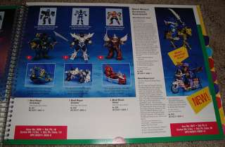 Playmates Toys 1995 Catalog Ninja Turtles Star Trek