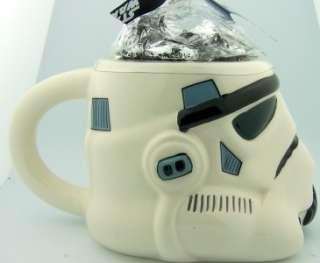 Wars Storm Trooper Helmet Coffe Candy Mug Ceramic Collectable Gift Jar
