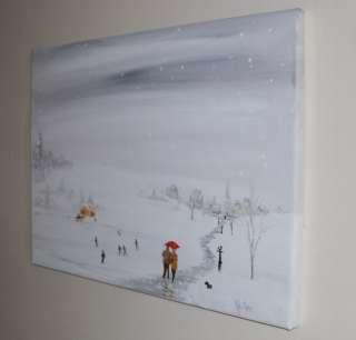 Original Oil / Acrylic Painting on Canvas by Jim Gillon NR