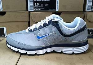 Nike INSPIRE DUAL FUSION Running Shoes 431997 041 Grey White Sz7~13