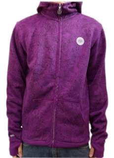 New Special Blend Get Rad Grape Zip Hoodie Hooded Sweatshirt Snowboard