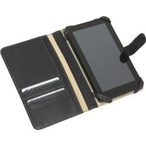 Piel Leather Kindle Fire Case w/ Tab Closure (Black