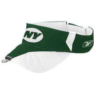Reebok New York Jets Green Team Adjustable Visor Sports