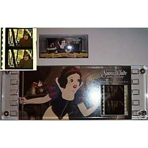 Walt Disney Snow White 35MM Collector Film Cel   NIB