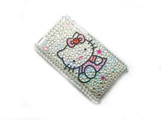 Hello kitty Rhinestone Bling Case iPOD TOUCH 4 4th GEN