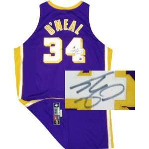 Shaquille ONeal Los Angeles Lakers Autographed Nike Authentic Pro Cut