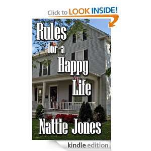 Rules for a Happy Life: Nattie Jones:  Kindle Store