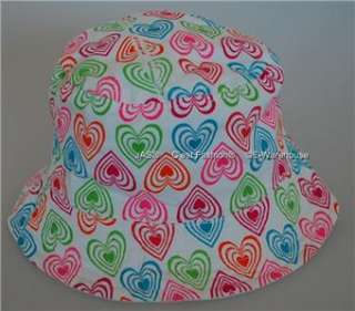 Kid Girl Toddler Bucket Sun Hat Cap Many Styles Colours