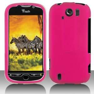 HTC myTouch 4G SLIDE Plastic Matte Finished Hot Pink Case Cover