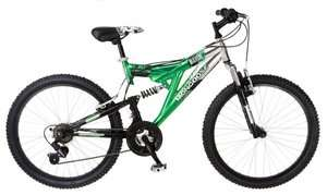 Mongoose 24 Boys Maxim Mountain Dual Suspension Bike 038675375406