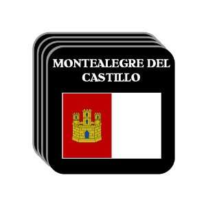 Castilla La Mancha   MONTEALEGRE DEL CASTILLO Set of 4 Mini Mousepad