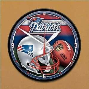 New England Patriots Helmet Wall Clock