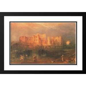 Turner, Joseph Mallord William 40x28 Framed and Double