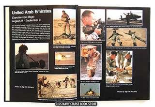 USMC 11th MARINE EXPEDITIONARY UNIT CRUISE BOOK 1999