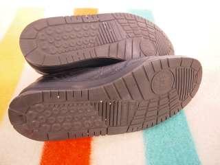 MEHPISTO Match Black Leather Lace up Walking Shoe US 11.5