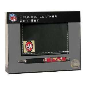 Team Sports San Francisco 49ers BiFold Wallet with Pen