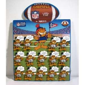 Garfield Dallas Cowboys Fan Atic Pinback Sales Display