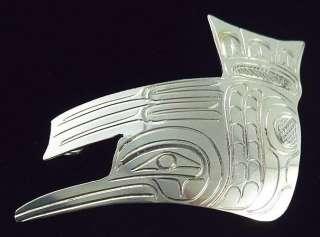 Coast Indian Sterling Silver Hummingbird Pendant