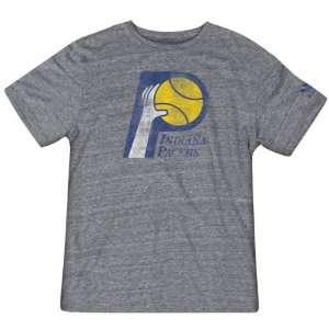 Indiana Pacers Hardwood Classics Retro Logo Tri Blend T Shirt