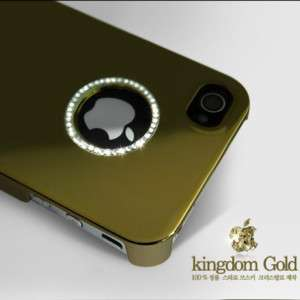 METAL RING Hard Back Case Cover For Apple iPhone 4S/4 case