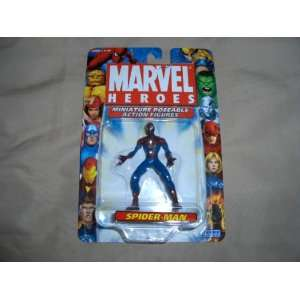 Marvel Heroes Miniature Poseable Spider Man Toys & Games