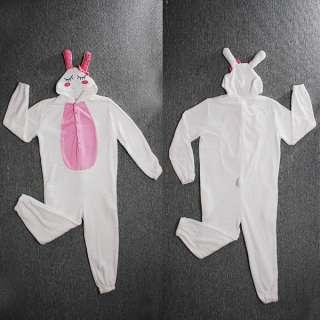 Halloween Party Stitch Cosplay Costume Kigurumi Pajamas LOVE Rabbit