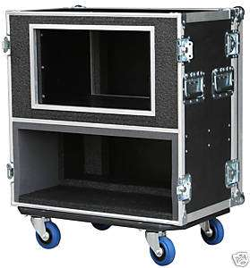 ATA CASE FOR Marshall JCM 900/ 8 SPACE RACK 3/8 Ply