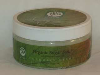 item name organic sugar scrub cucumber melon with certified organic
