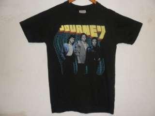 Vintage 80s Journey Raised On Radio Rock Band T Shirt