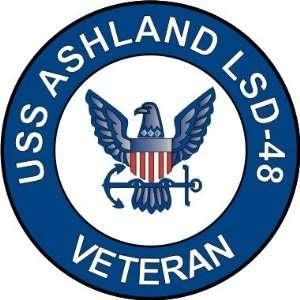 US Navy USS Ashland LSD 48 Ship Veteran Decal Sticker 5.5