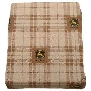 John Deere Bedding Traditional Tractor and Plaid Collection, 4 Piece