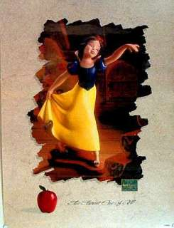 WDCC Disney Print   Snow White ~ Signed by Bruce Lau |