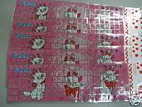 Pks X Marie Cat Desktop Laptop US Keyboard Glitter Stickers ~ FREE
