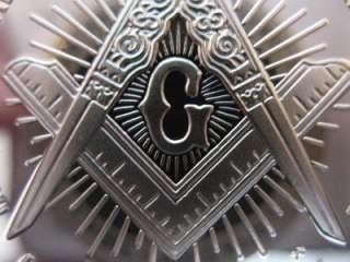 OZ KIT CARSON MASONIC ART COIN SILVER .925 + GOLD