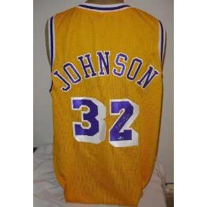 Magic Johnson Autographed/Hand Signed Los Angeles Lakers