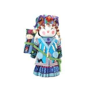 Asian Doll in Ethnic Costume (H XIAO US): Home & Kitchen