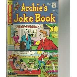 Archies Joke Book #201 (Comic Book) Books