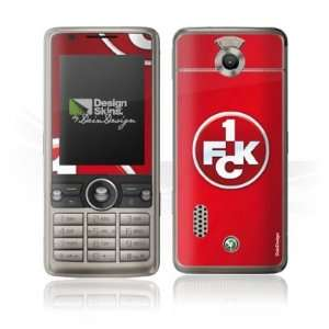 Design Skins for Sony Ericsson G700   1. FCK Logo Design