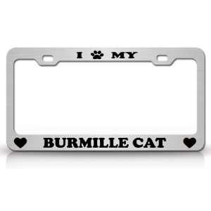 I PAW MY BURMILLA Cat Pet Animal High Quality STEEL /METAL