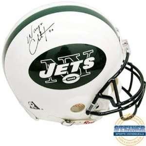 Wayne Chrebet New York Jets Autographed Helmet Sports