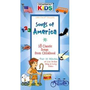 Songs of America [VHS] Cedarmont Kids Movies & TV
