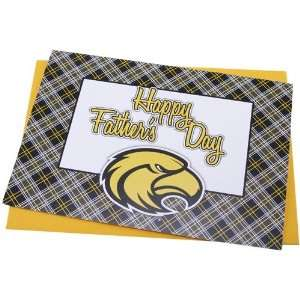 Southern Miss Golden Eagles Team Logo Fathers Day Card