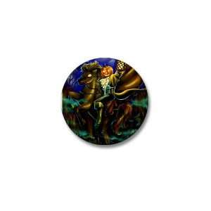 Headless Horseman Horse Mini Button by CafePress: Patio, Lawn & Garden