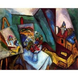 com FRAMED oil paintings   Raoul Dufy   24 x 20 inches   The workshop