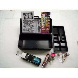 Drag Slot Car Starter Set w/1 OHM Turbo Controller (Slot Cars) Toys