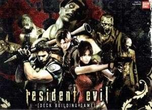 Resident Evil Deck Building Game + BONUS Promo Card NEW