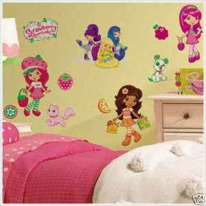 STRAWBERRY SHORTCAKE 39 BiG Wall Stickers Room Decor